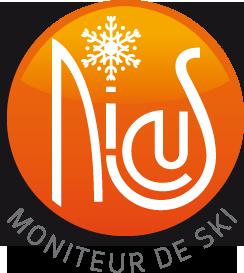 Logo Nicus - Ski Coatching - Moniteur de ski